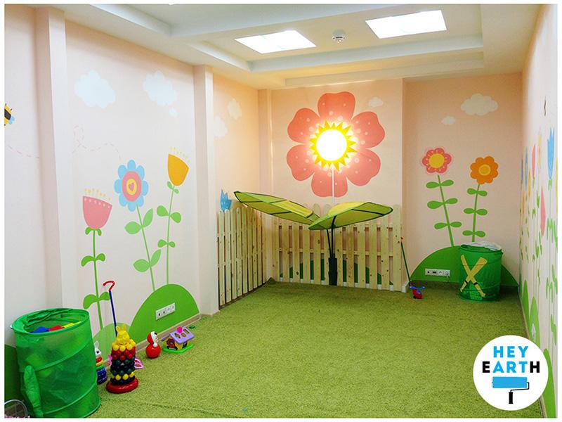 рисунки в детском саду показать